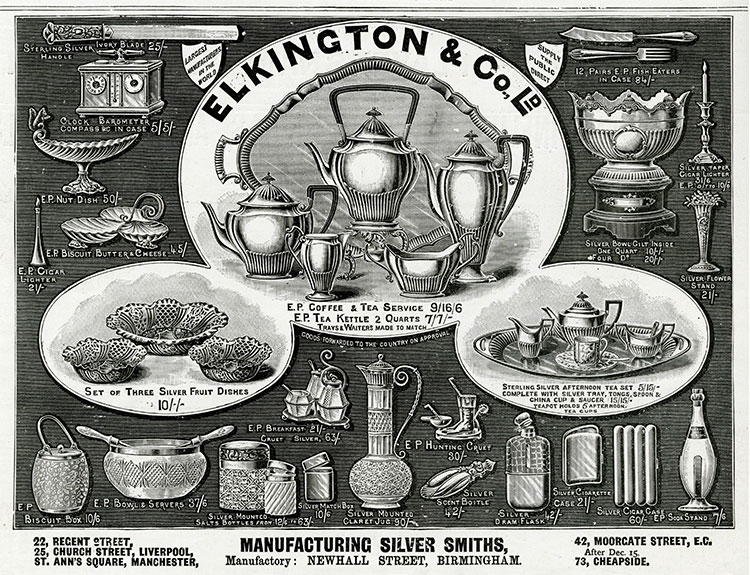 Elkington & Co. Silverware
